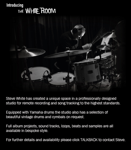 Steve White - The White Room - Remote Recording Service